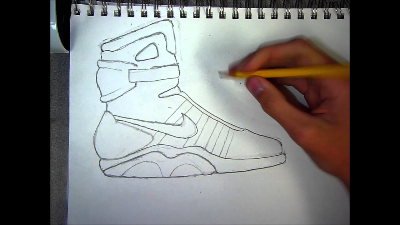 How To Draw  Air Mags (speed Art)