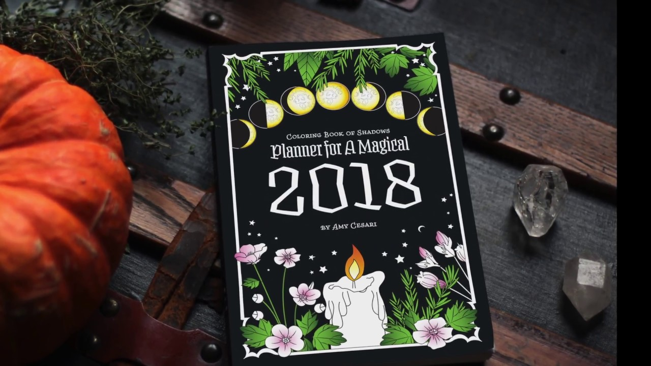 Planner For A Magical 2018
