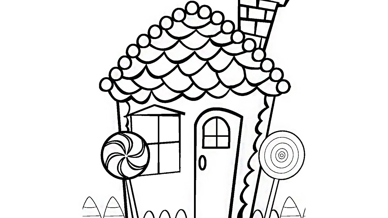 Coloring Book Pages Candyland And Chocolate Candy Videos For Kids