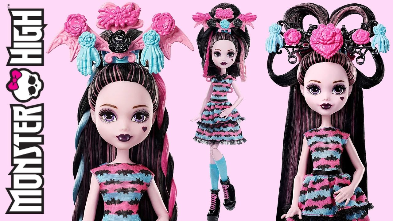 Hair Party Draculaura Monster High Review