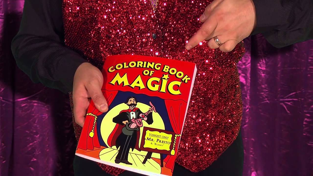 Adelaide Magician Magic Mike & The Colouring Book Of Magic