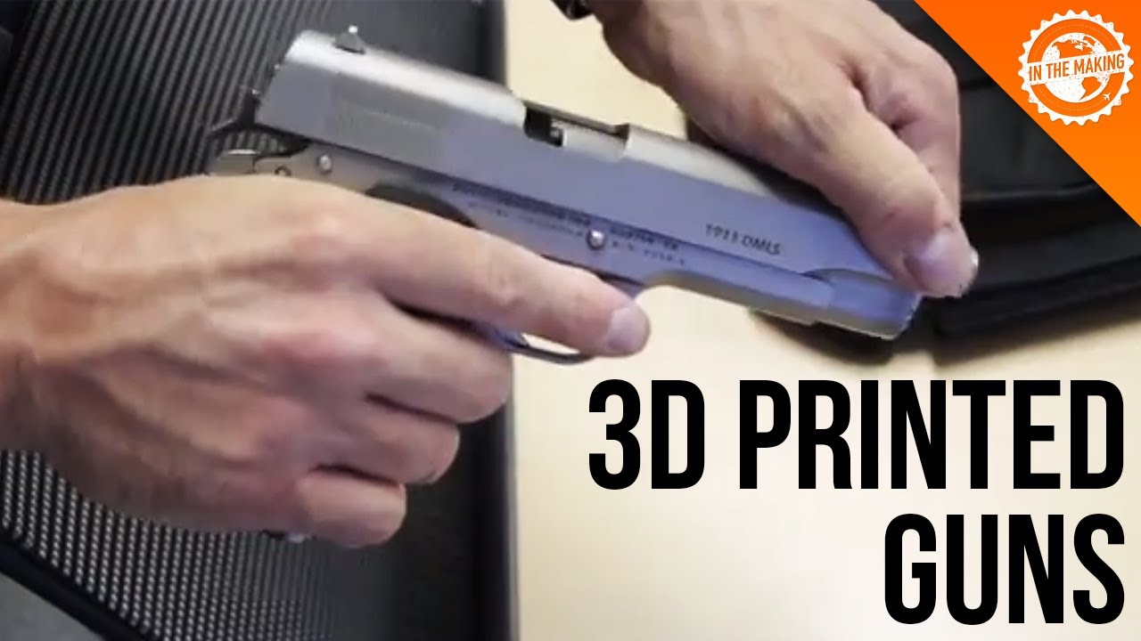 Shooting A 3d Printed Gun