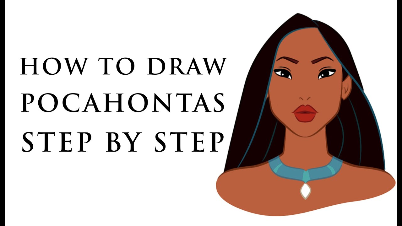 How To Draw Disney Princess Characters For Beginners