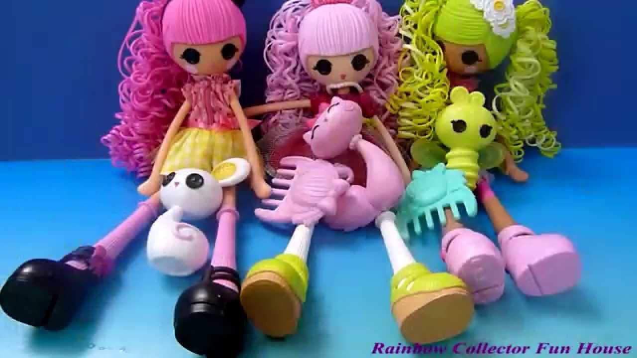 Lalaloopsy Dolls Hair Change Color  Jewel Sparke