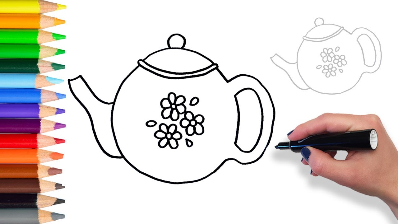Learn How To Draw Teapot