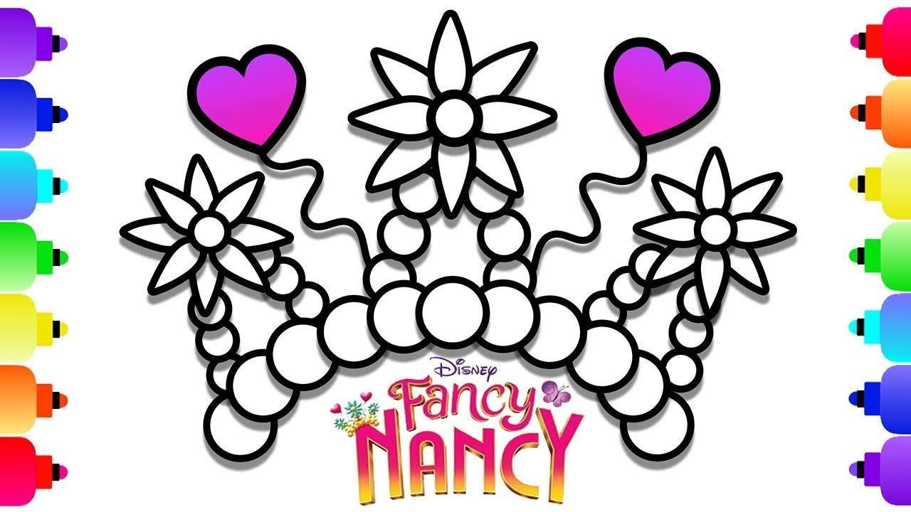 Learn To Draw Disney's Fancy Nancy Crown Easy For Kids