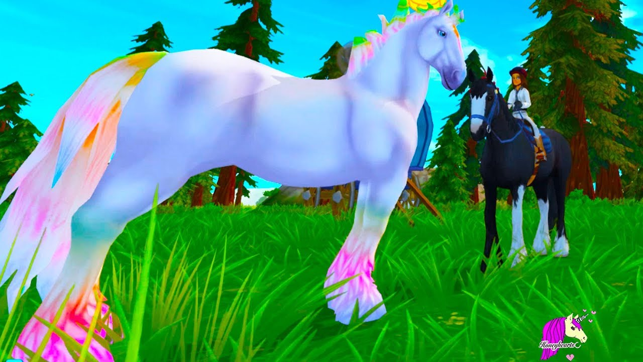 Magic Color Changing Horses ! Color Change Jorvik Wild Horse Star