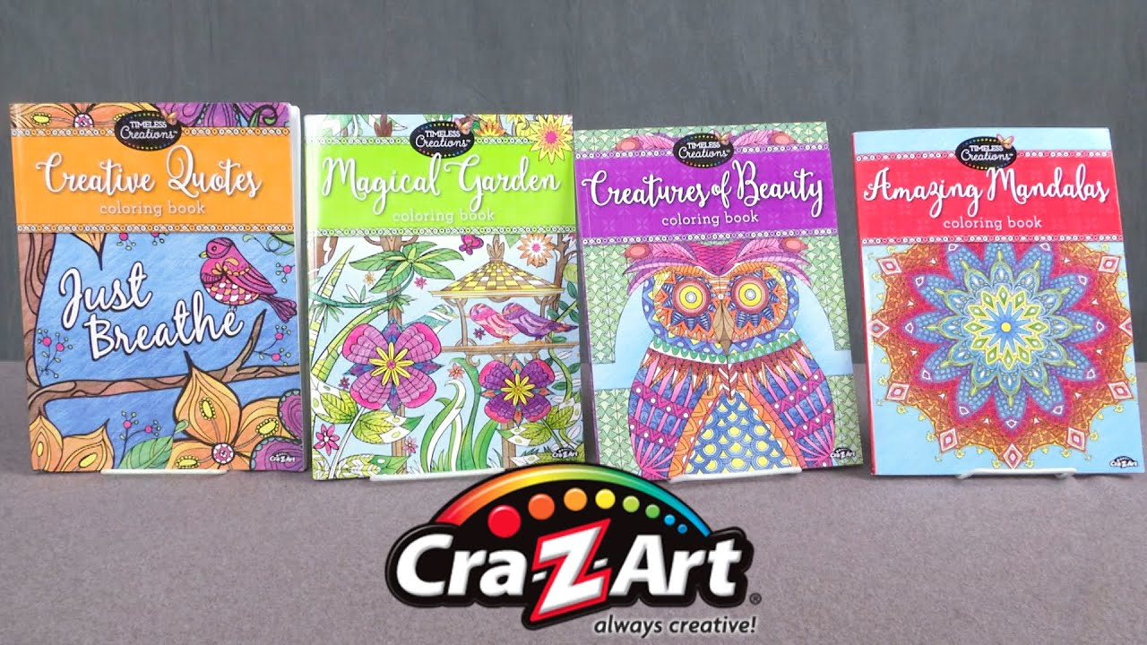 Timeless Creations Coloring Books From Cra