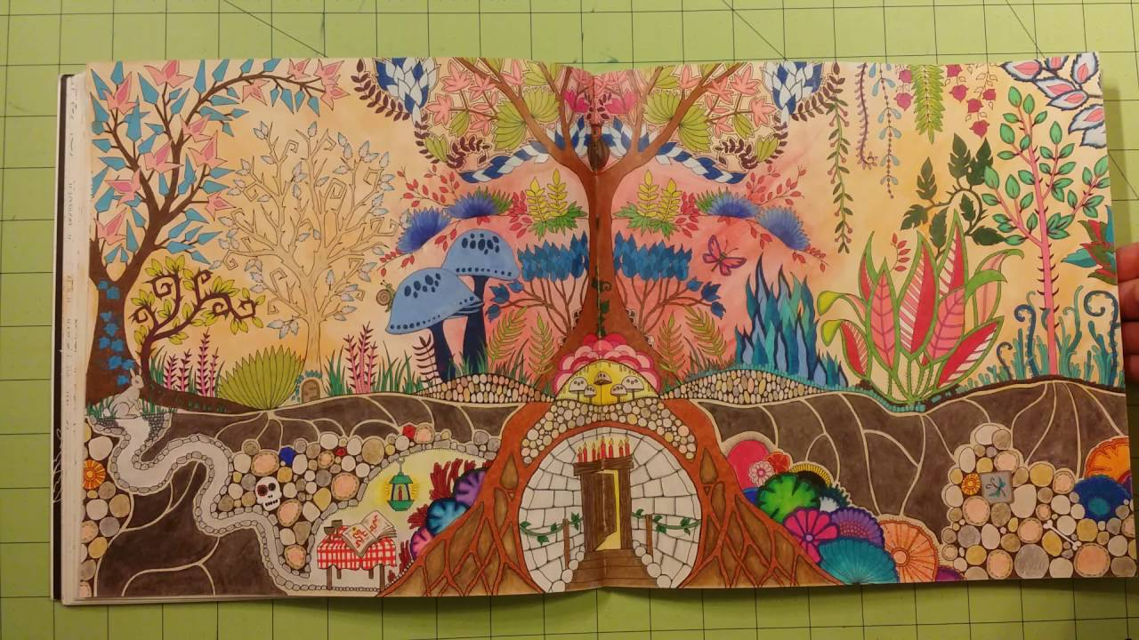 The Enchanted Forest By Johanna Basford Adult Coloring Book Review