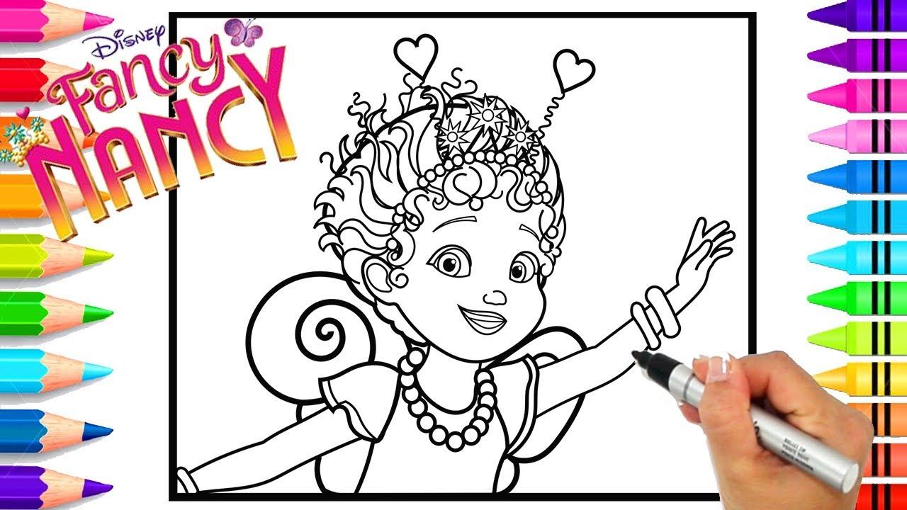 How To Draw Disney Junior's Fancy Nancy