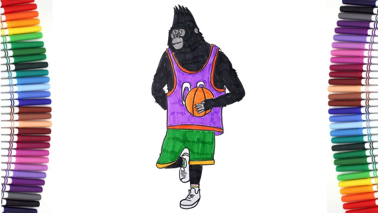 Sing Movie Magic Coloring Johnny Gorilla Changes Awesome Costumes