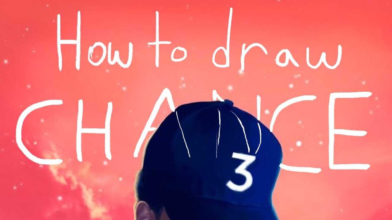 How To Draw Chance The Rapper's  Coloring Book