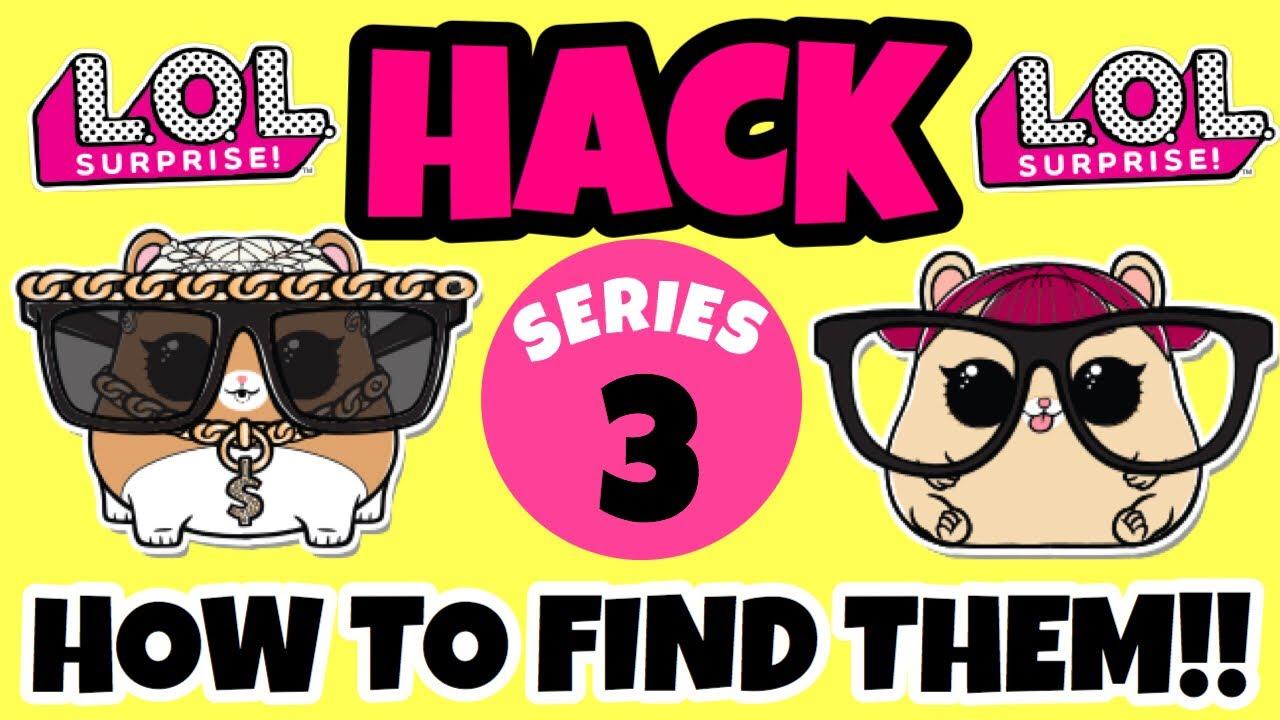 How To Find Ultra Rare Lol Surprise Pets  Mc Hammy & Cherry Ham