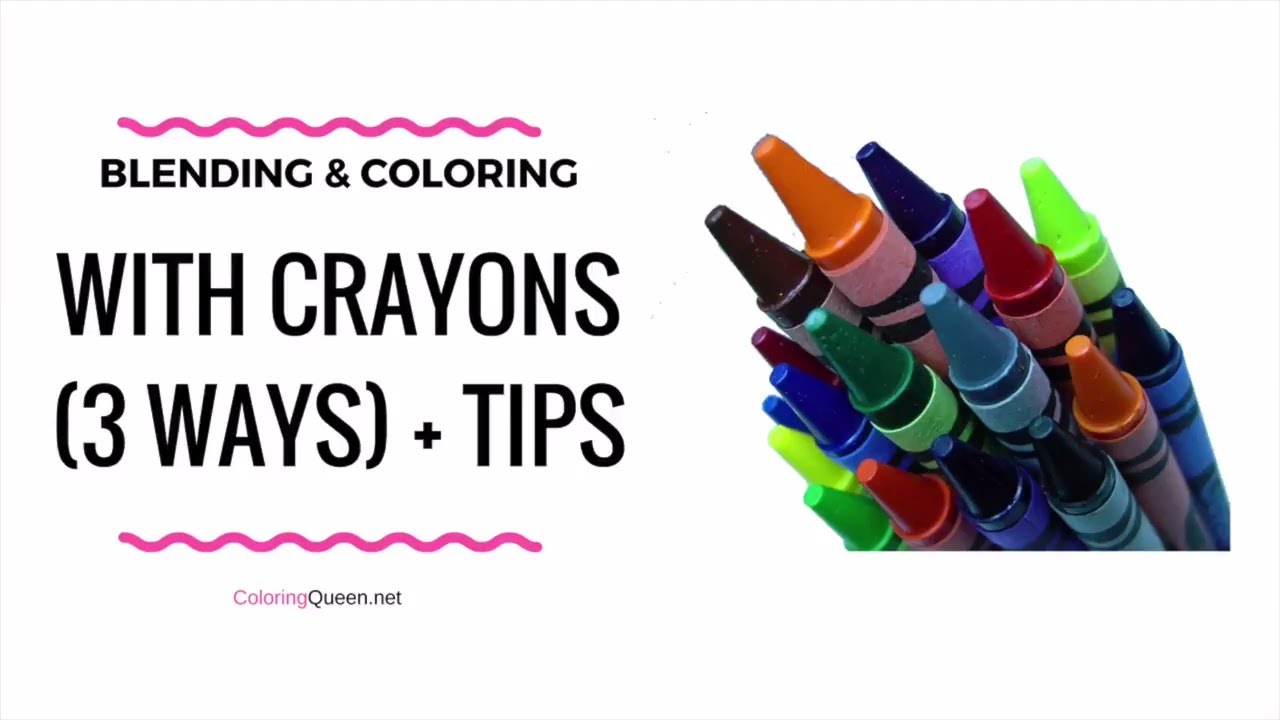 Blending & Coloring With Crayons