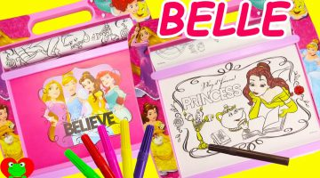 Art Of Coloring Disney Princess