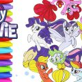 My Little Pony Movie Coloring Pages