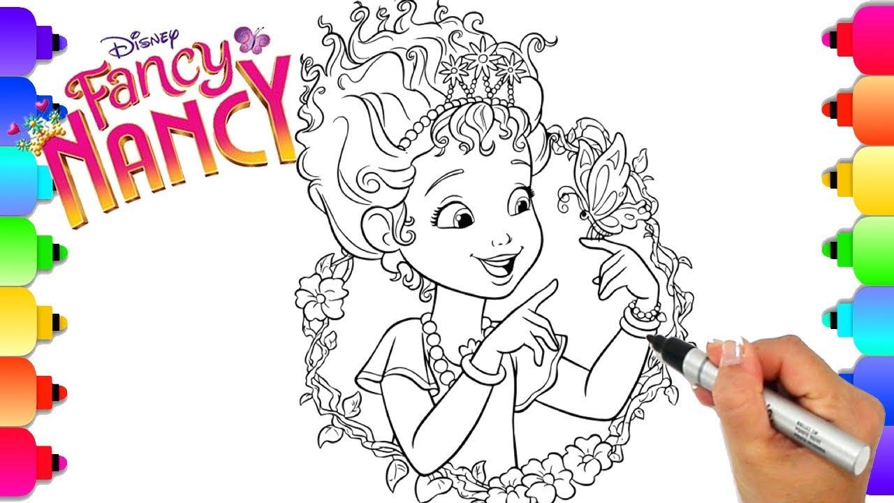 Learn How To Draw Fancy Nancy From Disney's Hit Show Fancy Nancy