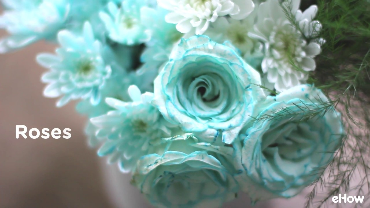 How To Dye Flowers Any Color You Want