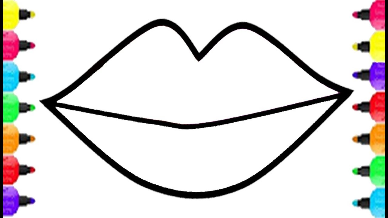 Maxresdefault On Lips Coloring Pages