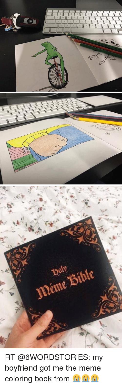 Meme Bible Rt My Boyfriend Got Me The Meme Coloring Book From