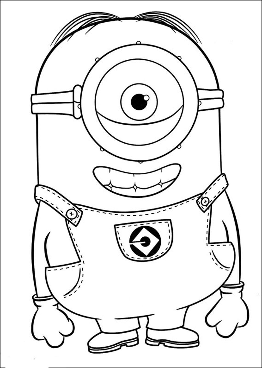 Minions Para Dibujar With Im Genes De Minions Para Colorear