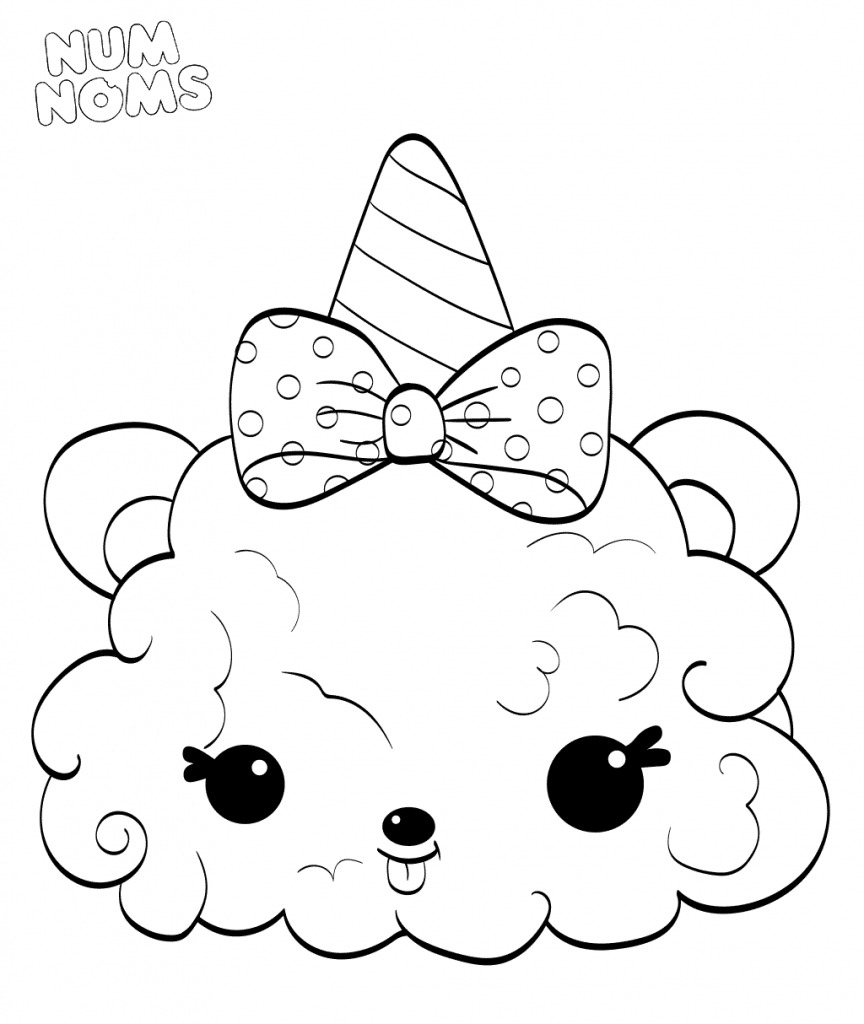Modern Num Nom Coloring Pages Coloring For Tiny Fresh Expert Num