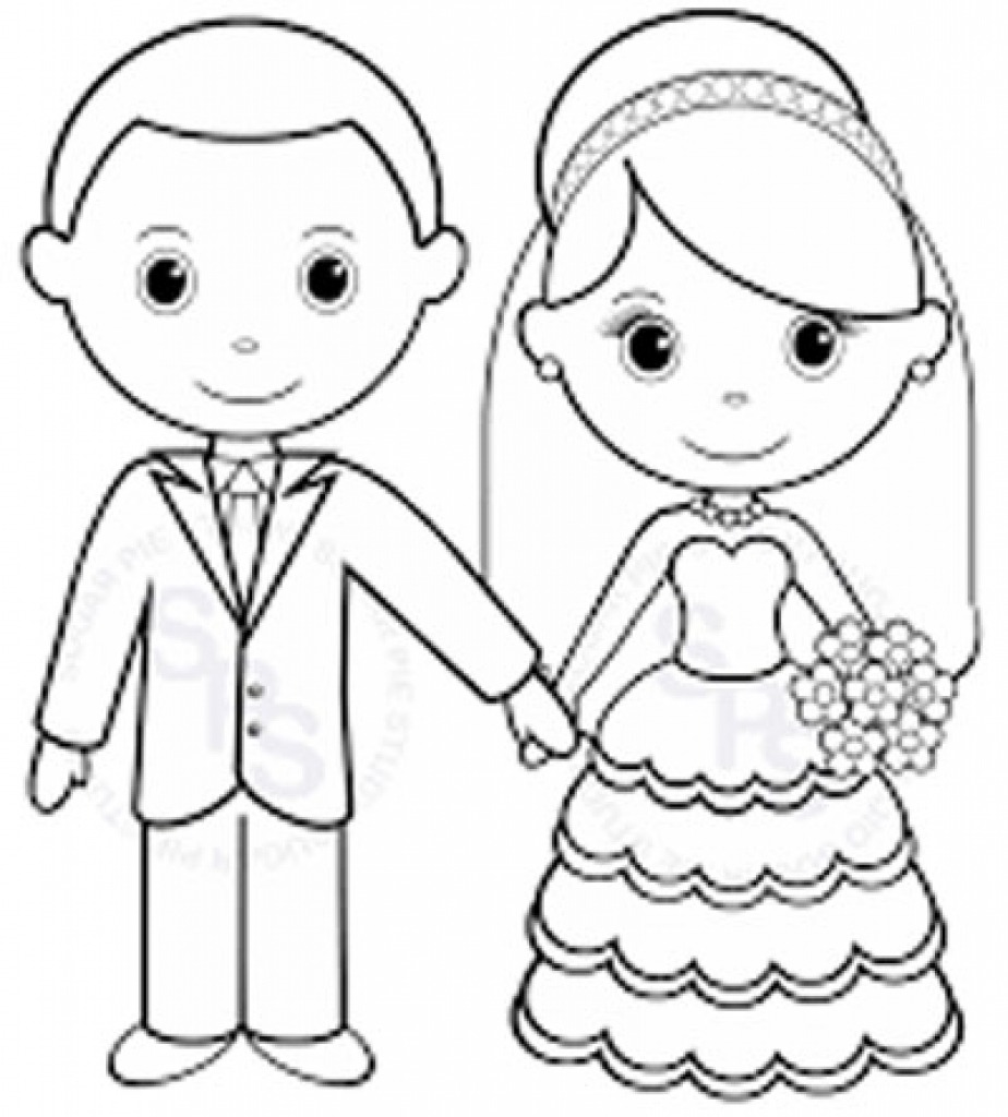 Coloring Pages ~ Personalized Colorings Fantastic Wedding Pages