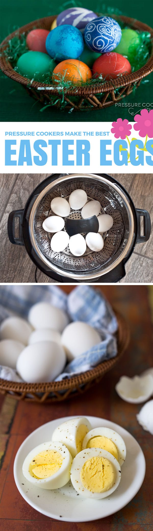 Hard Boiled Eggs For Easter In The Pressure Cooker (instant Pot)