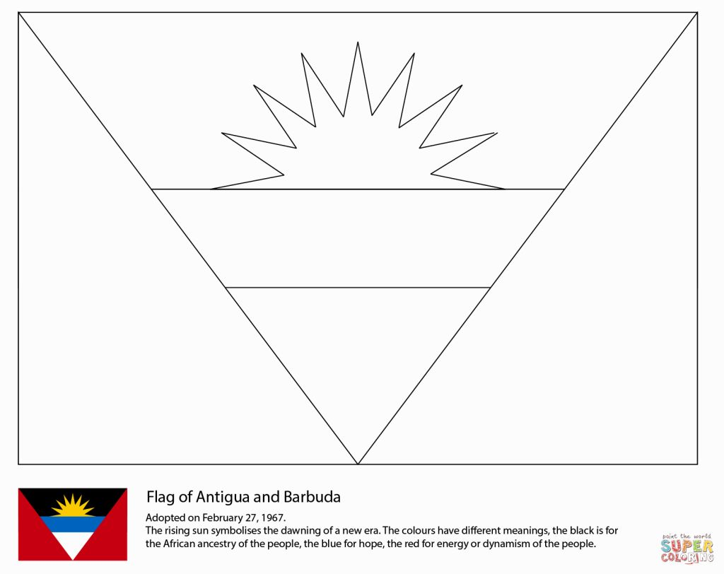 Puerto Rico Flag Coloring Page – Coloring Pages