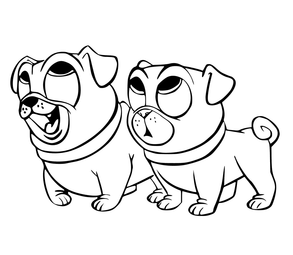 Puppy Dog Coloring Pages Secrets Pals To Download And Print For