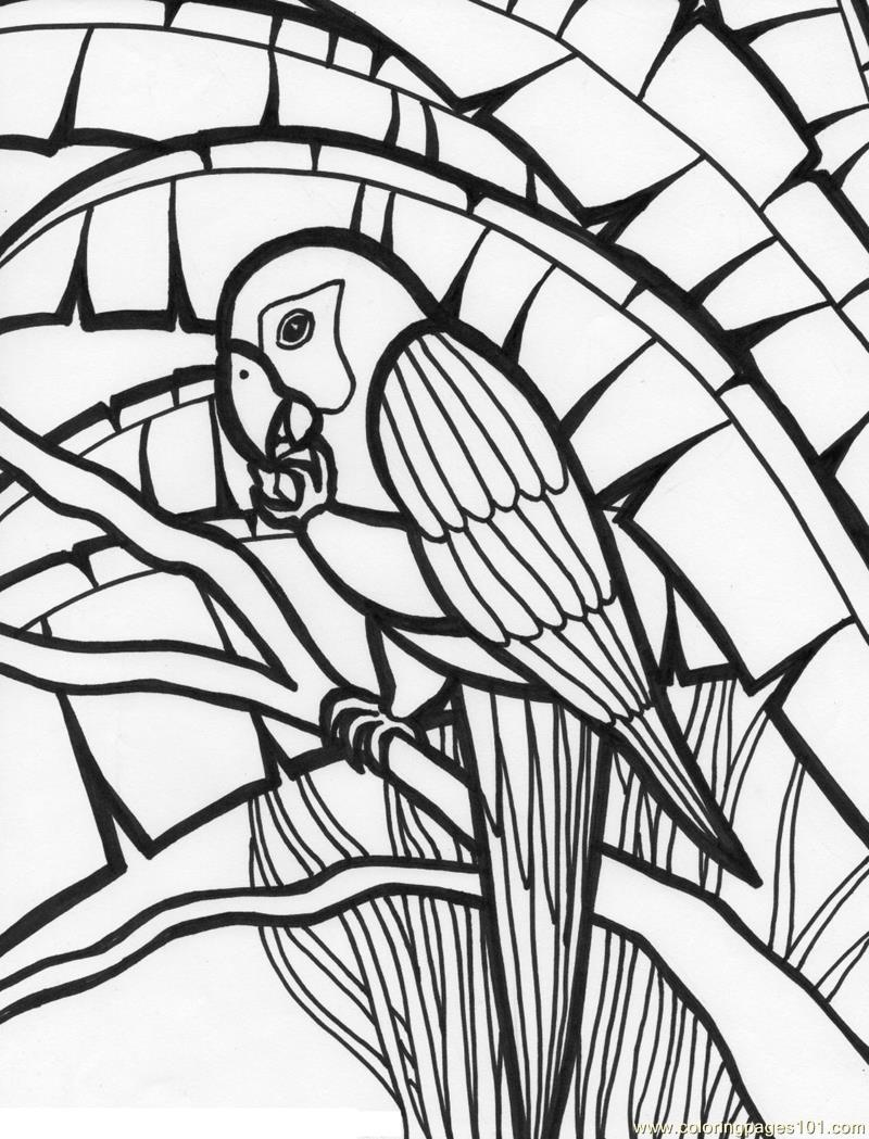 Coloring Pages ~ Rainforest Coloring Pages To Print Parrot Page