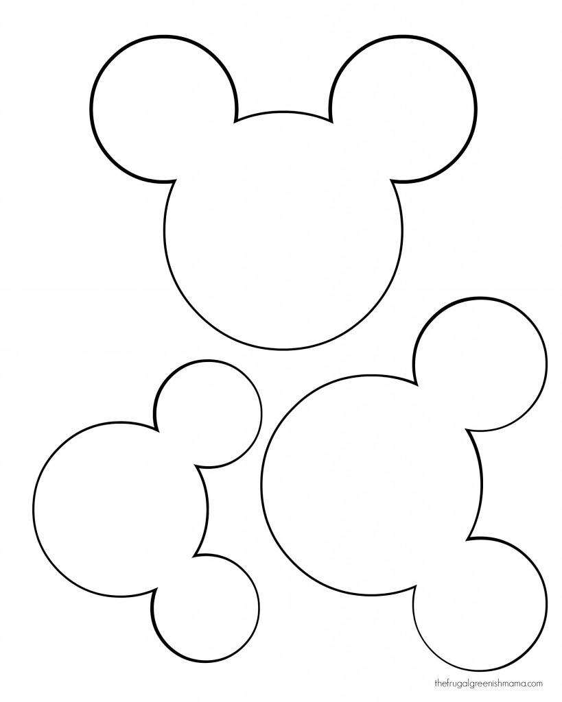 Free Mickey Mouse Head, Download Free Clip Art, Free Clip Art On
