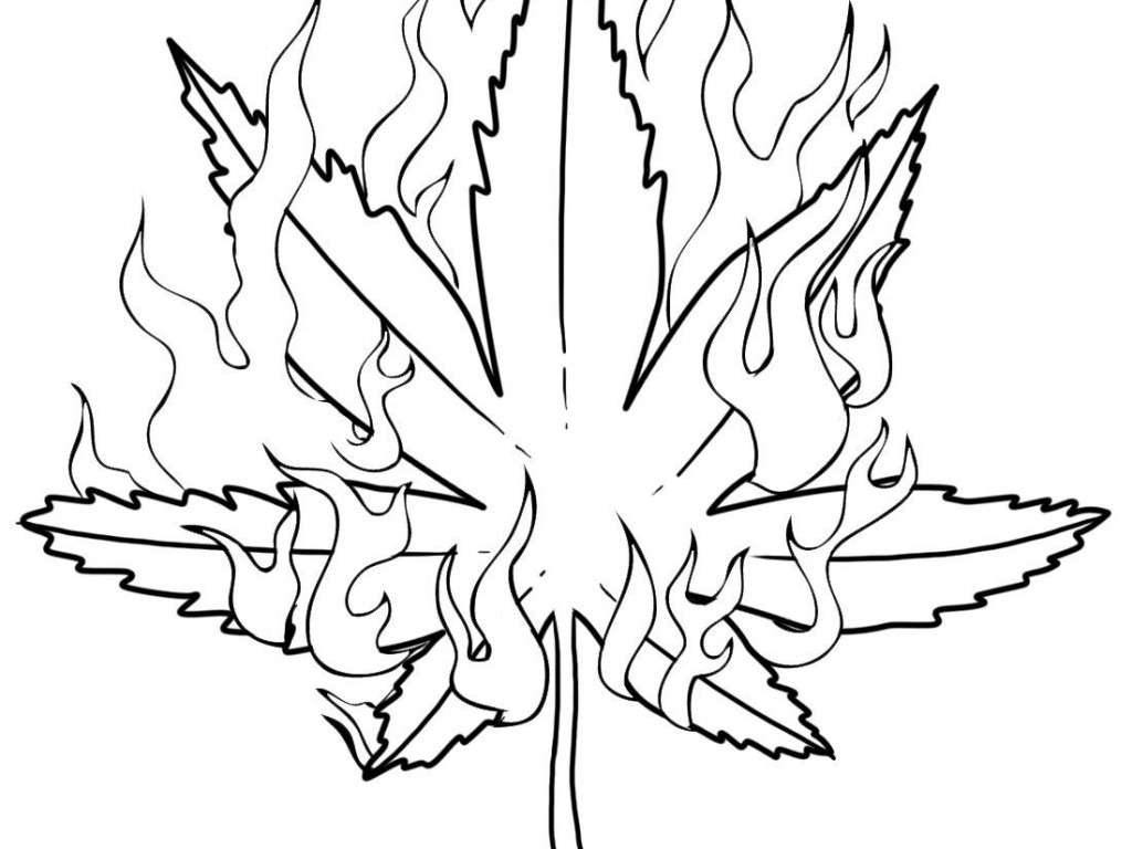 Free Weed Plant Drawing, Download Free Clip Art, Free Clip Art On
