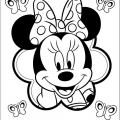 Coloring Pages Baby Mickey Mouse