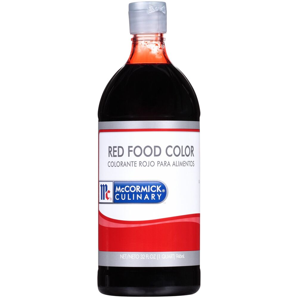 Mccormick Culinary Red Food Color, 32 Fl Oz (packaging May Vary