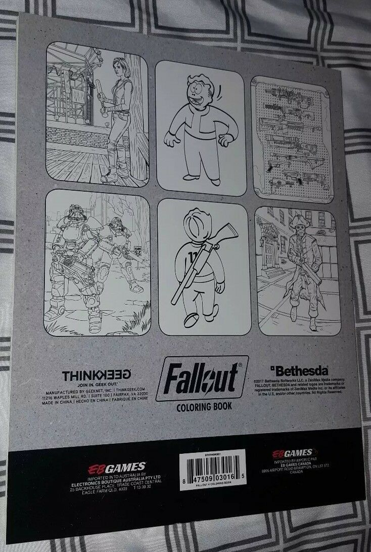 Fallout 4 Adult Coloring Book