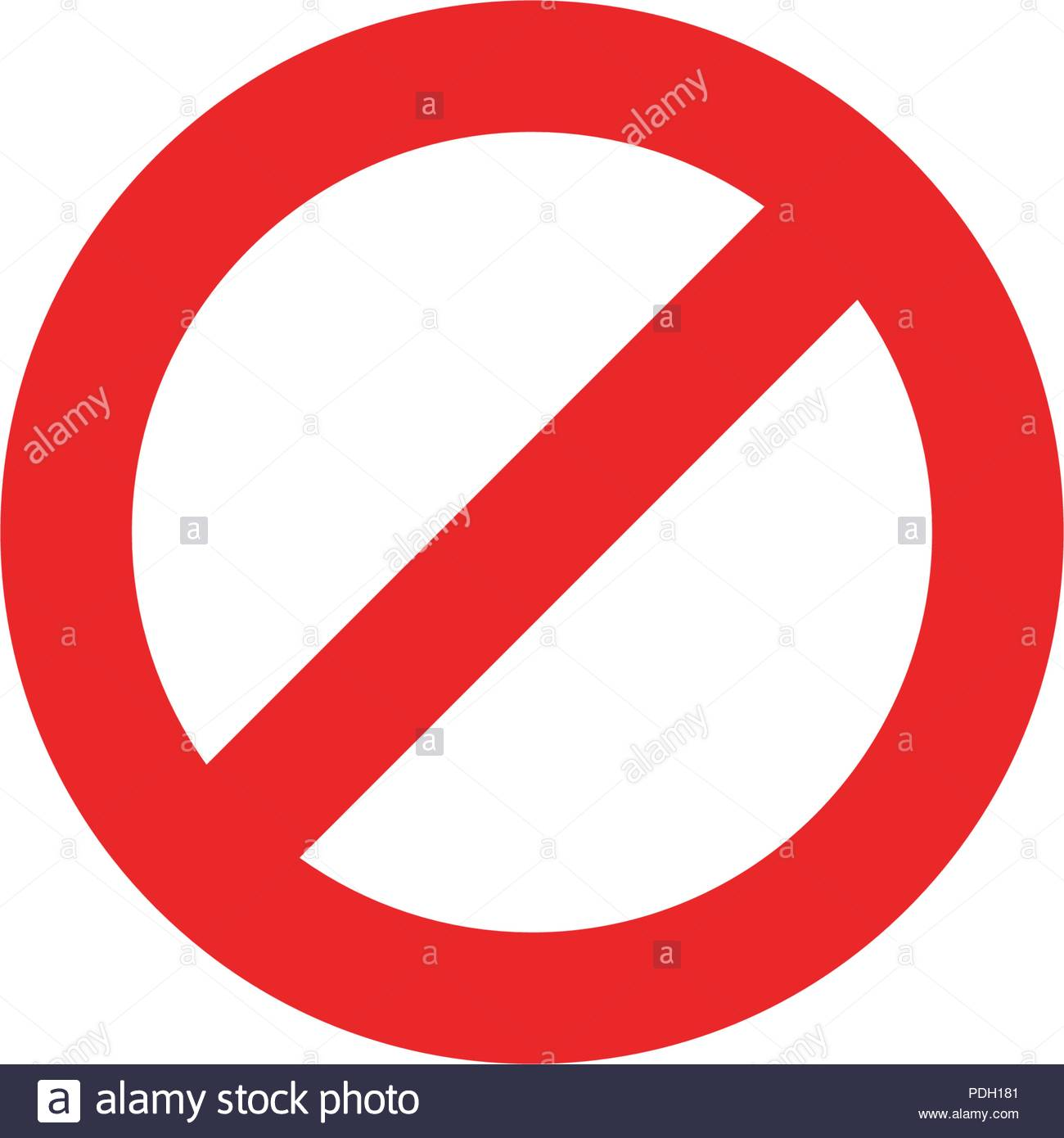 Stop Sign Icon Template Vector Illustration Design Stock Vector