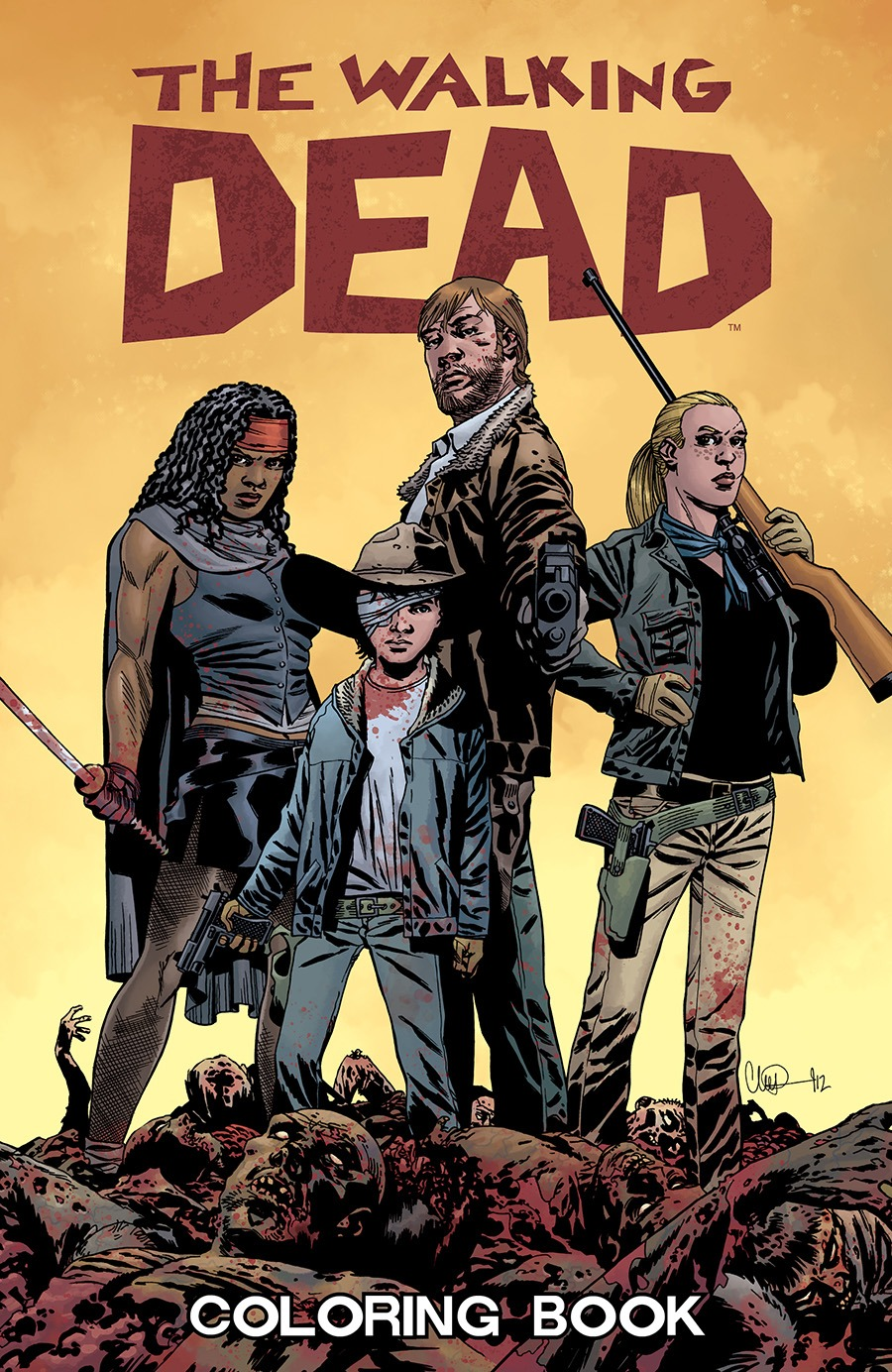 The Walking Dead Coloring Book And  153 Coming Soon