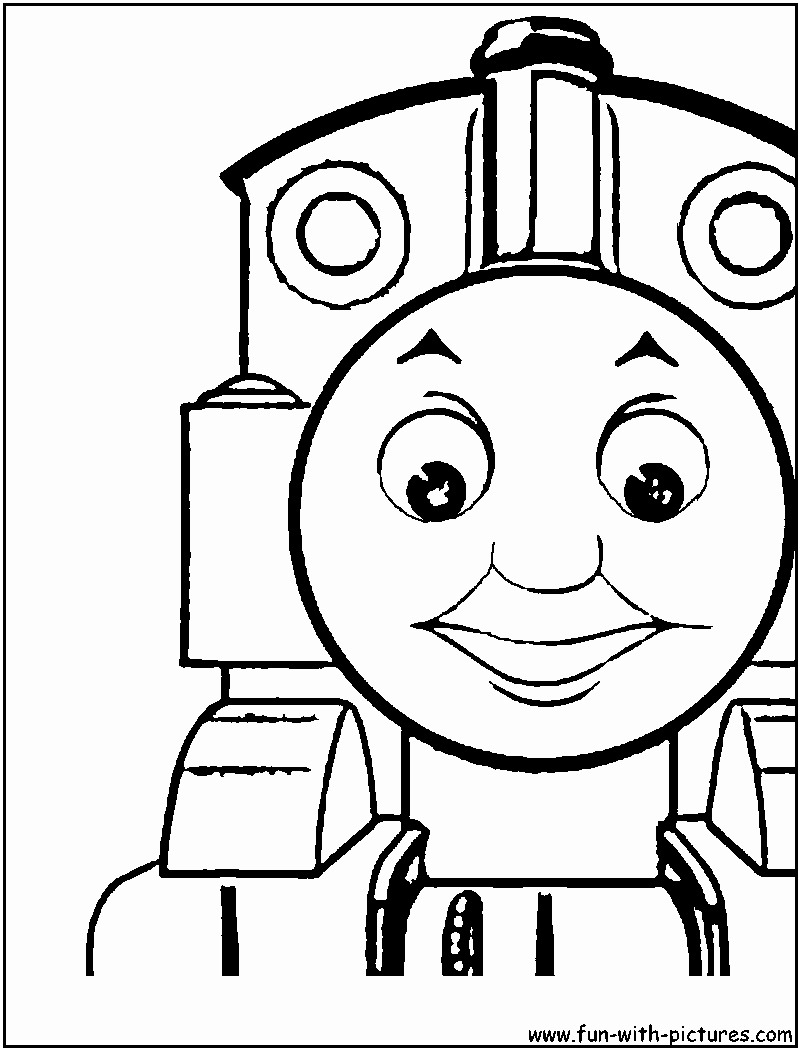 Coloring Pages ~ Coloring Pages Simple Train Page At Getcolorings