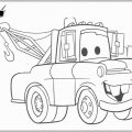 Coloring Pages Tow Mater