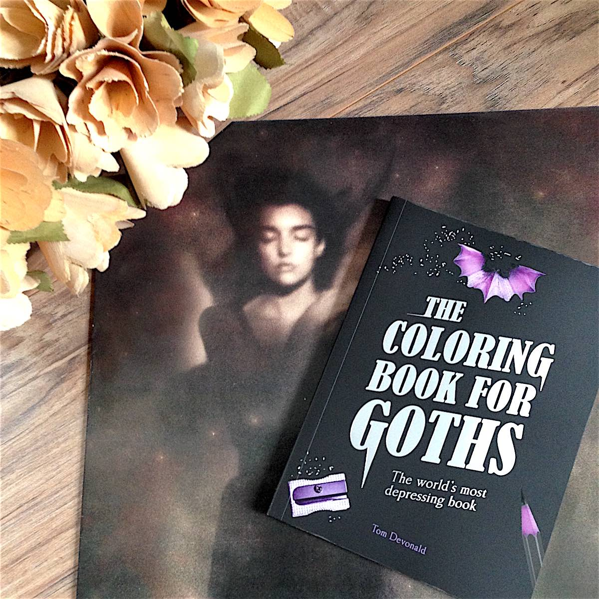 The Coloring Book For Goths  Because Goths (and Former Goths) Can