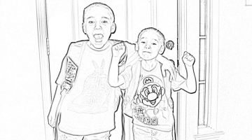 Turn Picture Into Coloring Pages