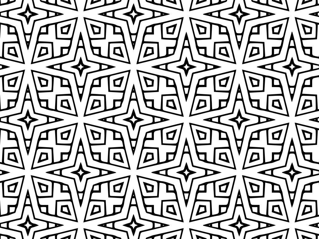 Colour Arab Printable Islamic Geometric Patterns