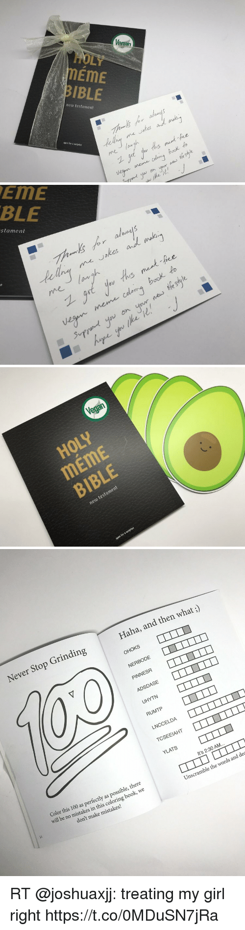 Venan Holy Meme Bible Aa New Testament Open For A Swrprise 5