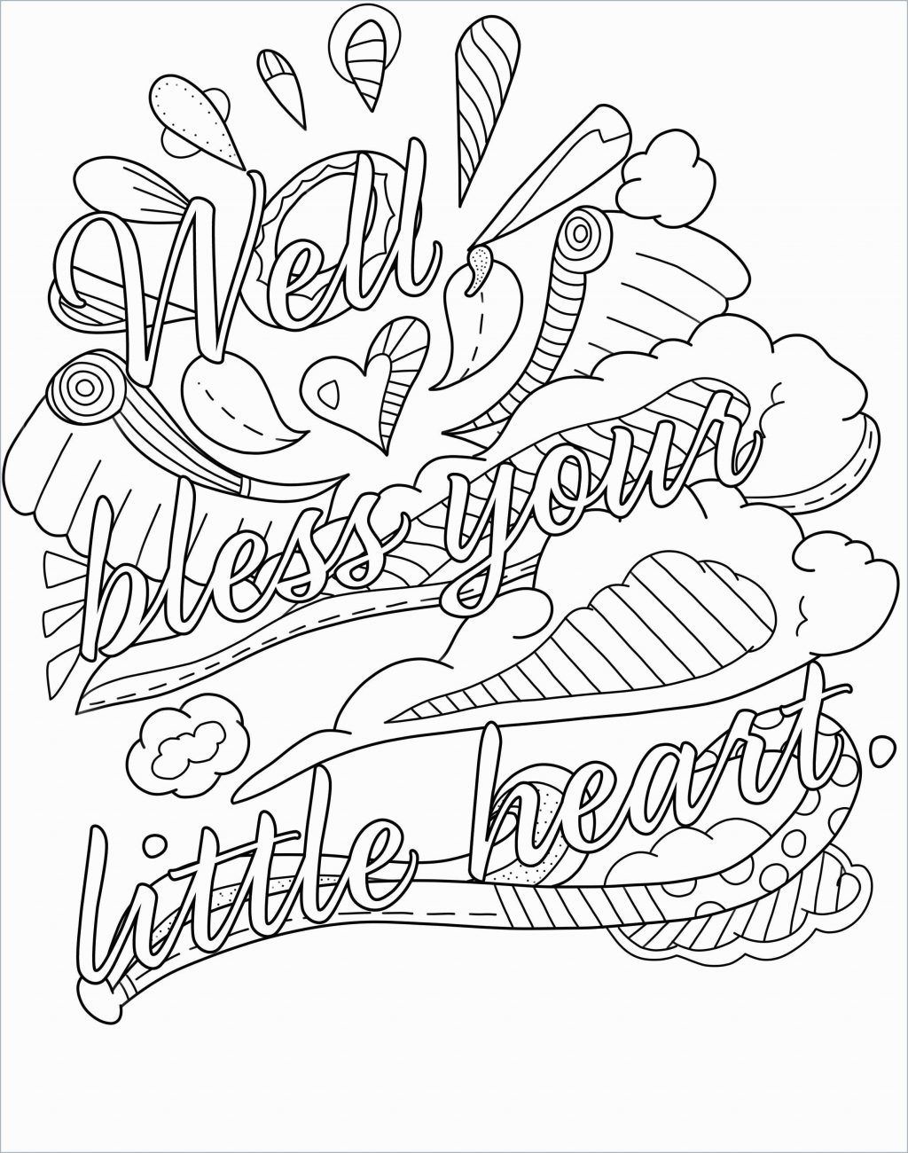 Coloring Pages ~ Word Coloring Pagesle Swearing Pleasant Page The