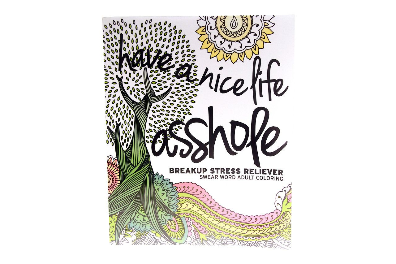 Have A Nice Life Asshole Coloring Book