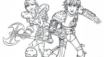 How To Train Your Dragon 2 Coloring Book