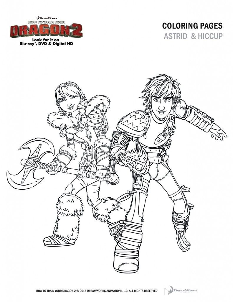 How To Train Your Dragon 2 Coloring Sheets And Activity Pages
