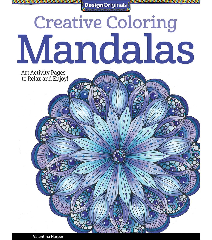 Creative Coloring Mandalas Coloring Book For Adults