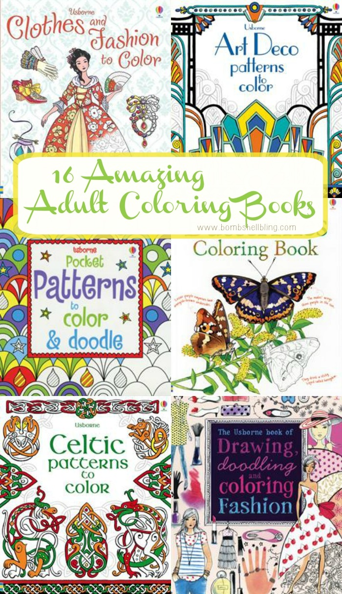 16 Incredible Adult Coloring Books